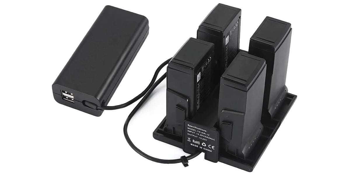 Концентратор хаб для заряда батарей DJI Mavic Air Battery Charging Hub (PART 2)