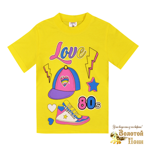 Футболка хлопок девочке (1-4) 200203-Z995