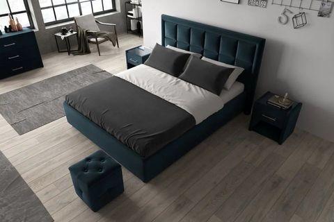 Кровать Квадро с мягким изголовьем