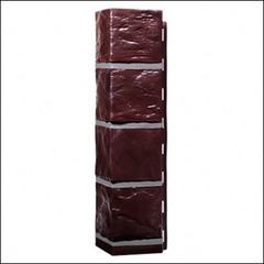 Наружный угол для фасадных панелей FineBer Камень Коричневый
