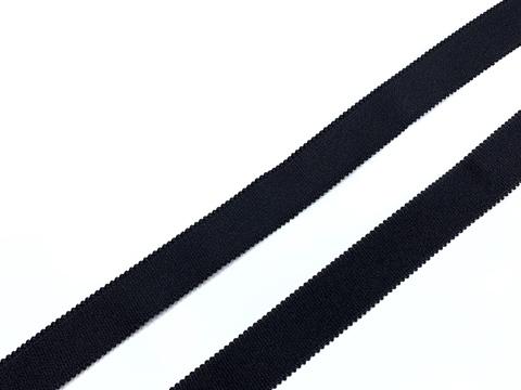 Резинка бретелечная черная 25 мм Lauma