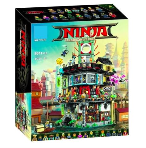 Конструктор Ninja 10727 Сити