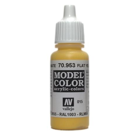 Model Color Flat Yellow 17 ml.