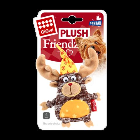 GiGwi Игрушка для собак Лось с пищалкой