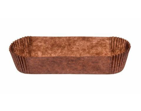 Форма для эклеров, коричневая, 25 шт