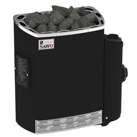 Электрическая печь SAWO MINI MN-36NB-P-F (3,6 кВт, встроенный пульт, термопокрытие)