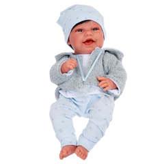 Munecas Antonio Juan Кукла Рамон в голубом, 33 см (6033)