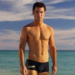 Мужские плавки боксеры черные AussieBum Australia