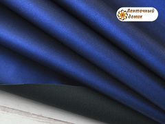 Эко-кожа Металлик сапфир 19*26 см (НЕФОРМАТ)