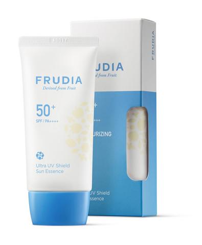 FRUDIA Крем-эссенция с ультра защитой от солнца SPF50+/PA++++ / Ultra UV Shield Sun Essence, (50г)