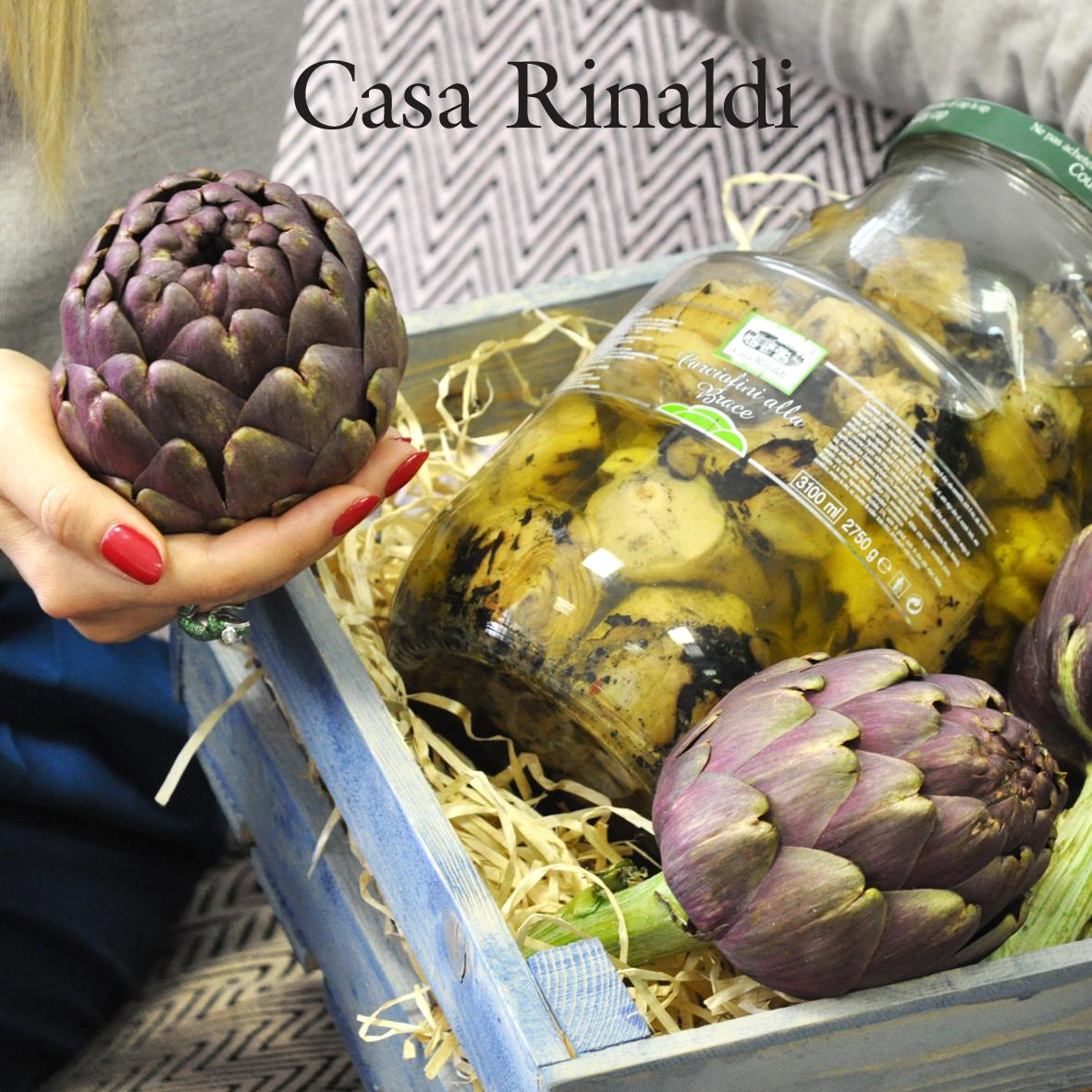Артишоки Casa Rinaldi жареные на гриле 320 г
