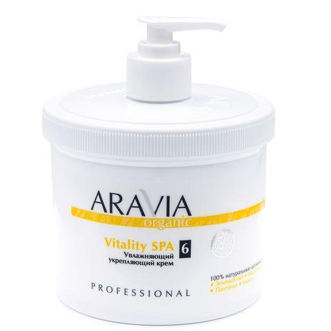 Увлажняющий укрепляющий крем для тела Vitality SPA, 550 мл, ARAVIA
