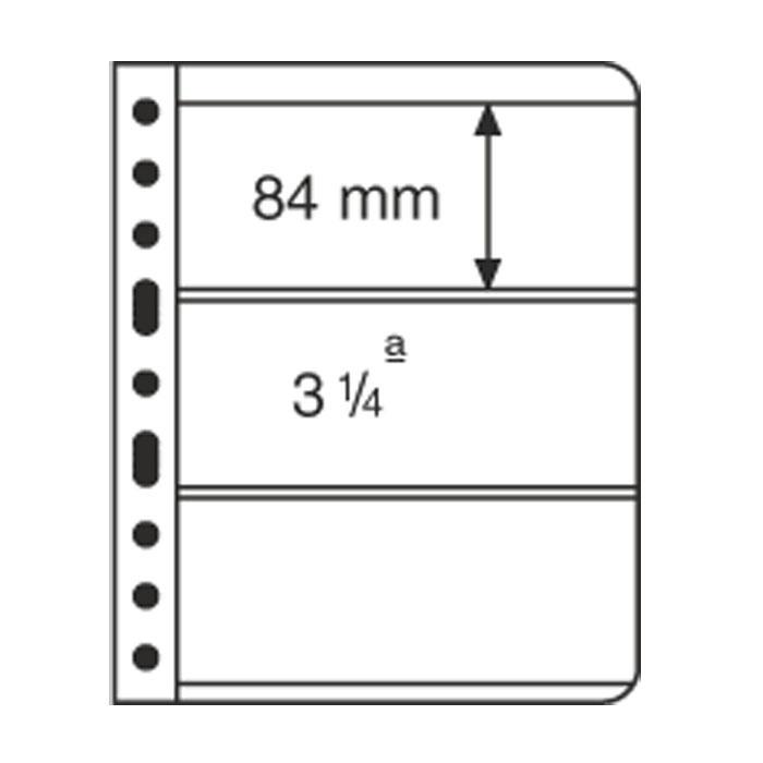 пластиковый лист VARIO, 3-ячейки, прозрачный
