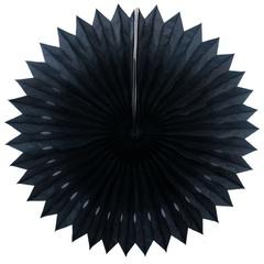 Фант с перфорацией 20 см, черный