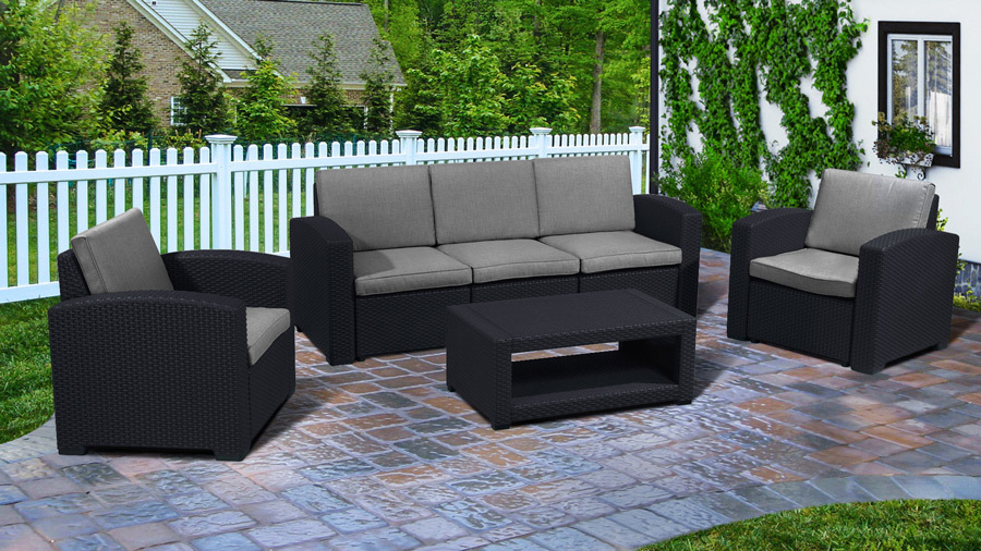 Комплекты для отдыха Комплект мебели IDEA LUX FIVE (Brown) _lux5t.jpg