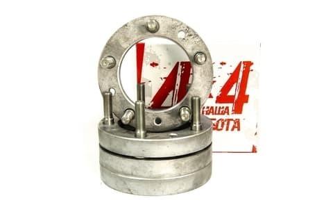 Проставка ступицы УАЗ 25 мм  для расширения колеи (комплект 4 проставки + 20 шпилек) материал: алюминий
