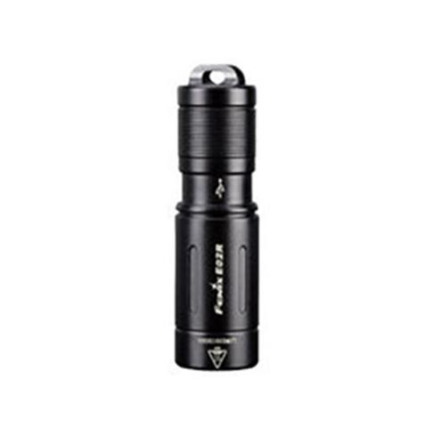Фонарь Fenix E02R (черный) 200lm