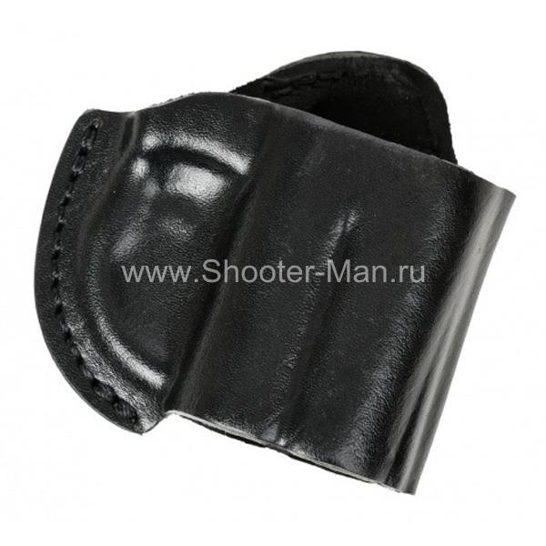 Кобура кожаная поясная для пистолета Оса ПБ-4-2 ( модель № 7 ) Стич Профи