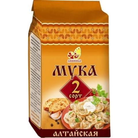 Мука пшеничная 2 сорт  700 гр. (Дивинка)