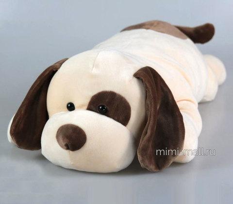 Мягкая игрушка Собака лежащая 60 см (Leosco)