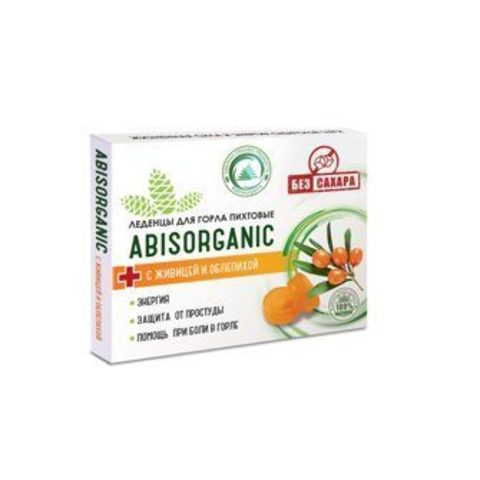 Abis organic candies with sap and sea buckthorn WITHOUT sugar