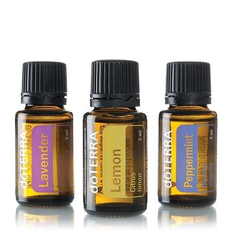 Ознакомительный комплект эфирных масел для начинающих 3 шт. по 15 мл. / Introduction to Essential Oils Kit (Beginner's Trio)