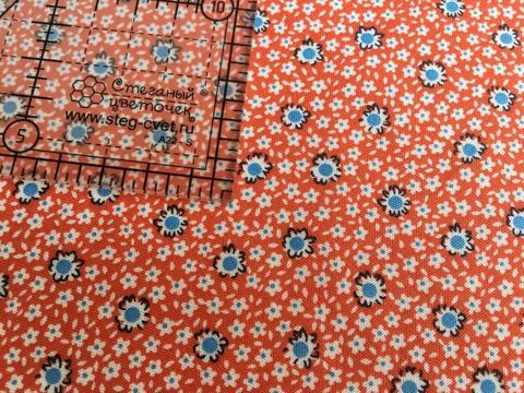 Ткань для пэчворка, хлопок 100% (арт. AN0613)