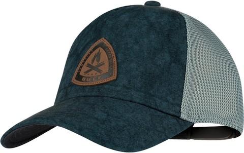 Кепка-бейсболка Buff Trucker Cap Lowney Blue фото 1