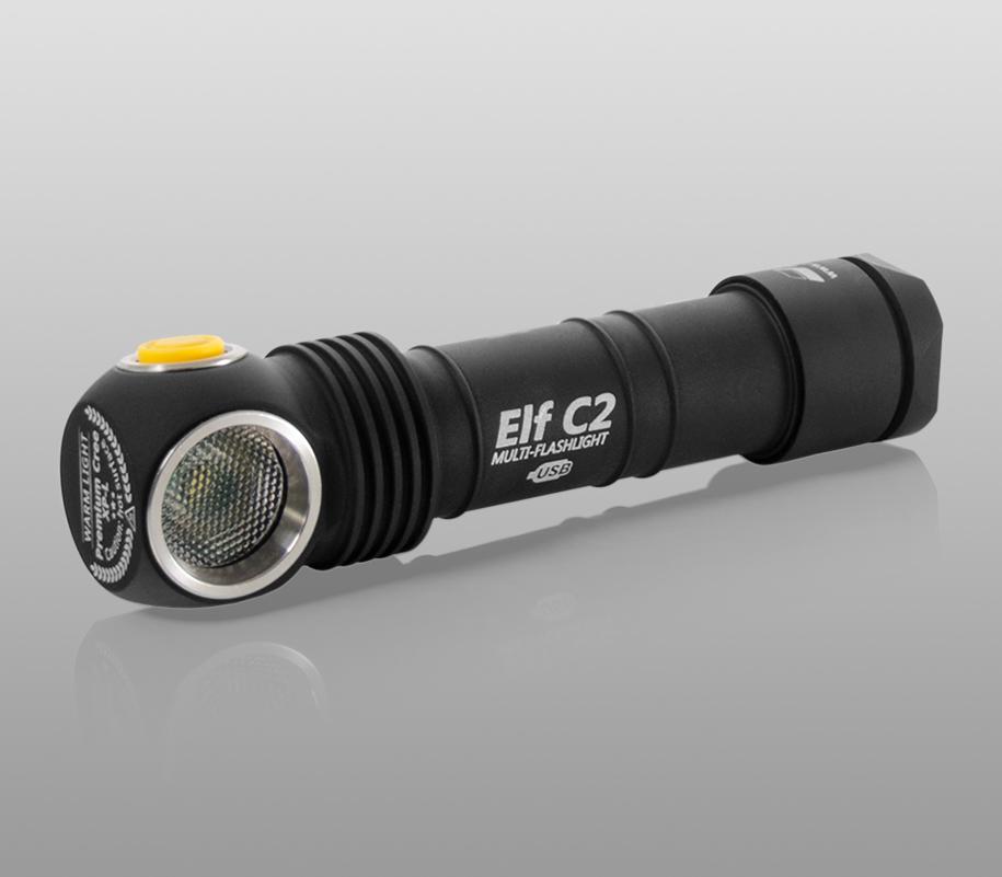 Мультифонарь Armytek Elf C2 Micro-USB - фото 9