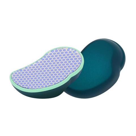 Нано терка пилка для п'ят Shelly зелена. Терка для ніг. Пилка для ніг. Пилка для педикюру. Лазерна терка. (4)