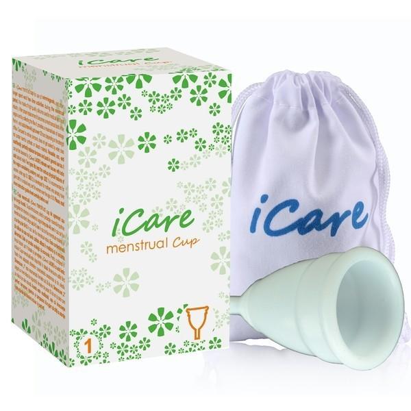 менструальная чаша iCare белая