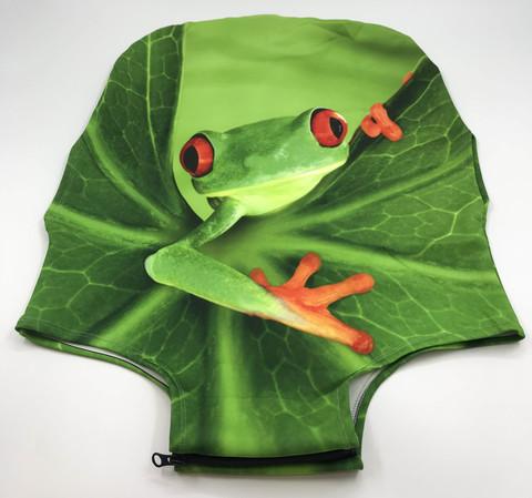 Чехол для чемодана - Лягушка
