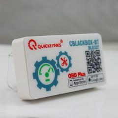 Адаптер автодиагностический ELM327 QUICKLYNCS BLE-327 (Bluetooth 4.0, Android + iOS)