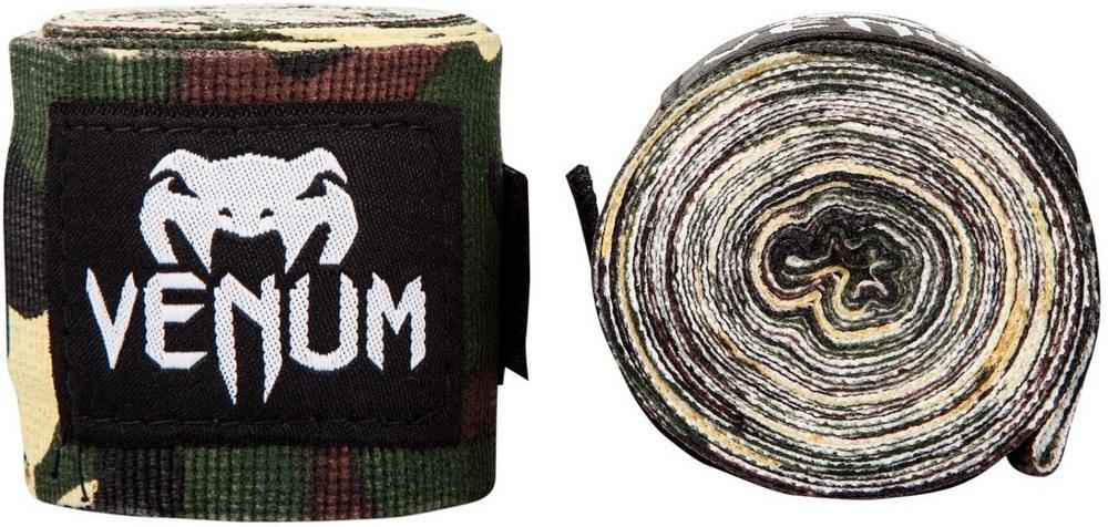 Капы и бинты Бинты для ММА Venum Kontact 2,5m - Forest Camo 1.jpg