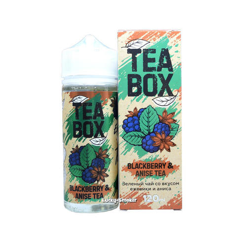 Жидкость Tea Box 120 мл Blackberry & Anise Tea