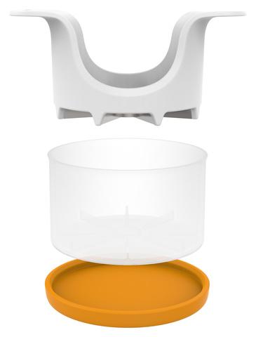 Яблокорезка Fiskars Functional Form 1016132 белый/оранжевый