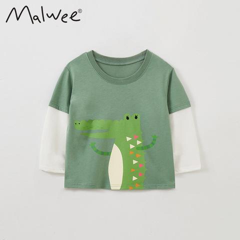 Лонгслив для мальчика Malwee Крокодил