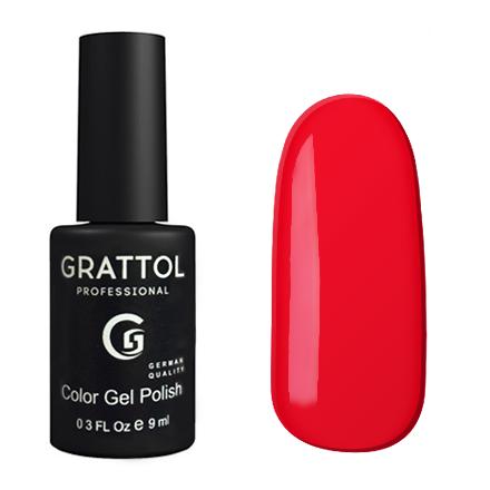 Гель-лак GRATTOL 083 Pure Red 9мл