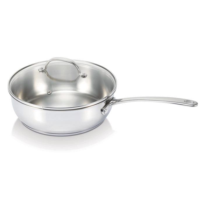 Сковорода глубокая BELVIA (24 см)