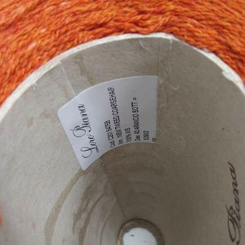 Кашемир 2/14 LORO PIANA COARSEHAIR TWEED оранжевый