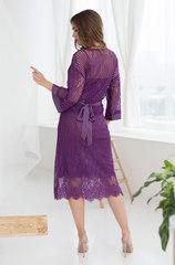 Халат из кружева Mia-Mia фиолетовый