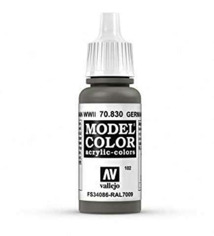 Model Color German Fieldgrey WWII 17 ml.