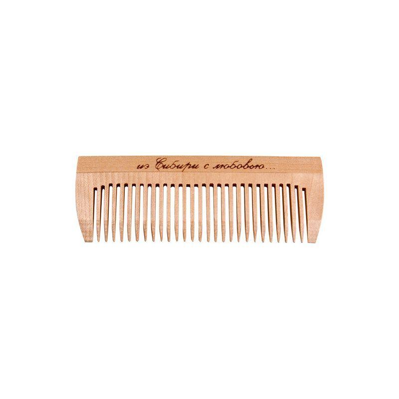 Расчёска-гребень деревянная