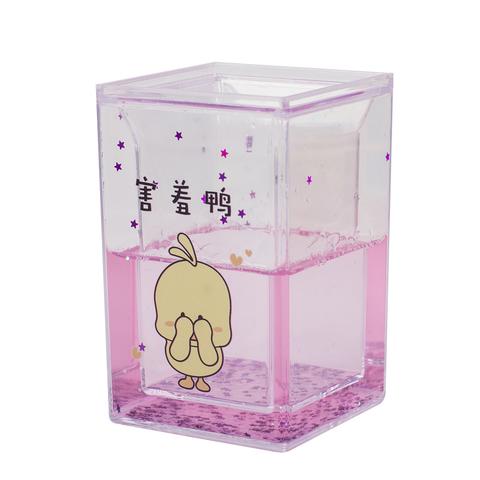 Стакан для канцелярских принадлежностей Duck Pink