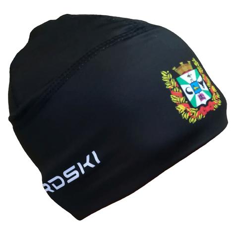Шапочка для снежного снайпера черная с логотипом ГОМЕЛЬСКАЯ ОБЛАСТЬ Nordski Warm black