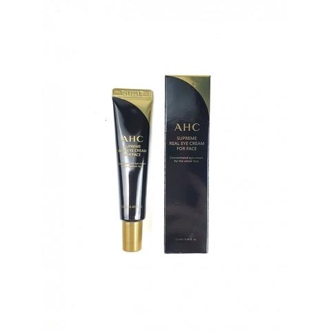 AHC Supreme Real Eye Cream For Face омолаживающий крем для кожи вокруг глаз