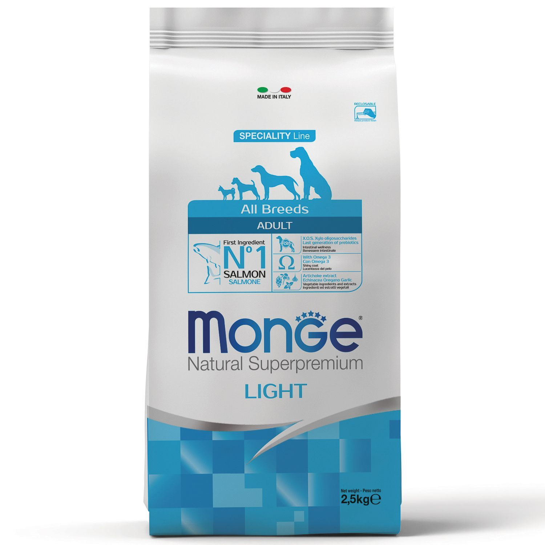 Monge Корм для собак Monge Dog Light низкокалорийный, лосось с рисом 70011228_1.jpeg