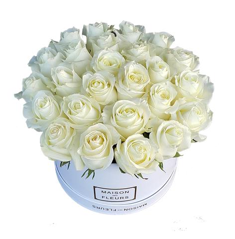 Коробка Maison Des Fleurs Белая