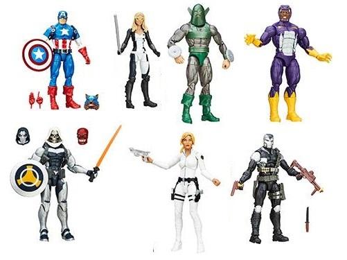 Марвел Легенд фигурки Капитан Америка серия 01