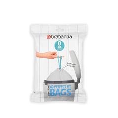Мешки для мусора PerfectFit, размер O (30 л), упаковка-диспенсер, 40 шт.